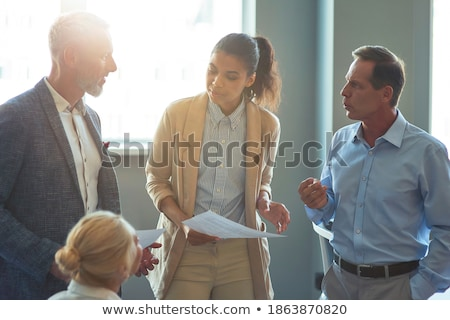 Mature executive businessman. stock photo © Kurhan