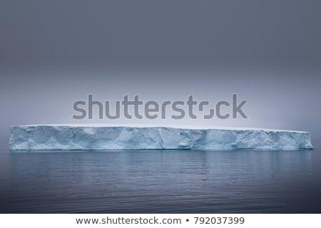 Iceberg sol mar océano hielo conservación Foto stock © timwege
