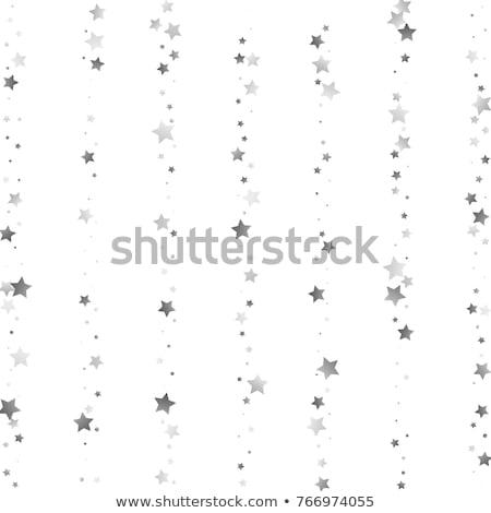 étoiles argent star patriotique Photo stock © fenton