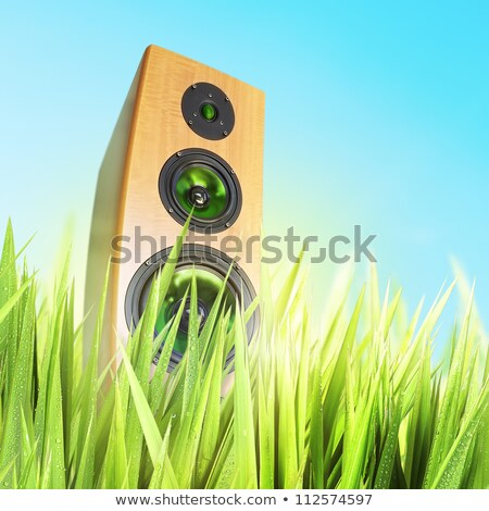 Sunny sound. Square composition. Stock photo © moses