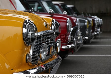 Antique yellow car Stock photo © sumners