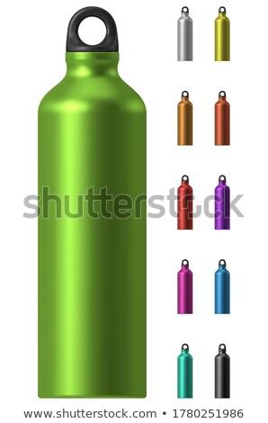 aluminium · kantine · geïsoleerd · witte · pad · water - stockfoto © shutswis
