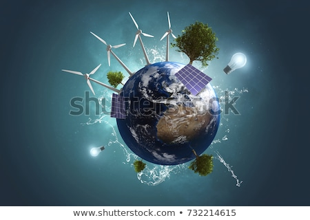 Stock photo: Environmentally clean source of energy.