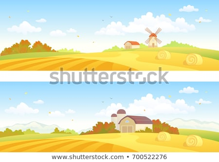 shed and silos Stock photo © xedos45