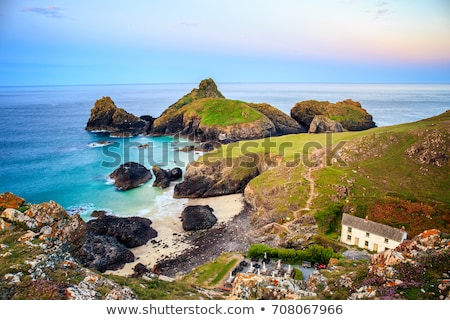 Kynance Cove West Cornwall Stock photo © mosnell
