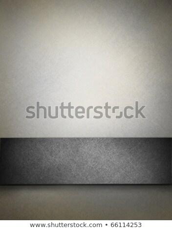 gri · etiket · kâğıt · soyut · arka · plan · beyaz - stok fotoğraf © OlgaYakovenko