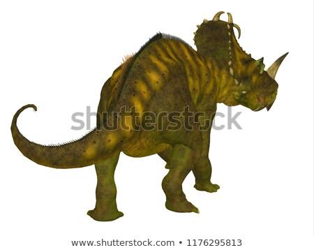 Dinoszaurusz késő 3d render 3D izolált illusztráció Stock fotó © AlienCat