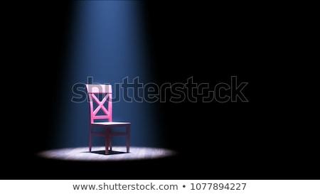 пусто красный аудитория ратуша заседание Сток-фото © Lightsource