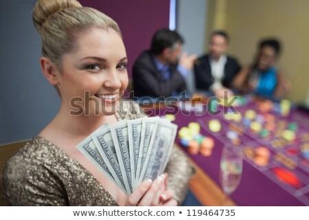 ブロンド ドル ルーレット 表 カジノ お金 ストックフォト © wavebreak_media