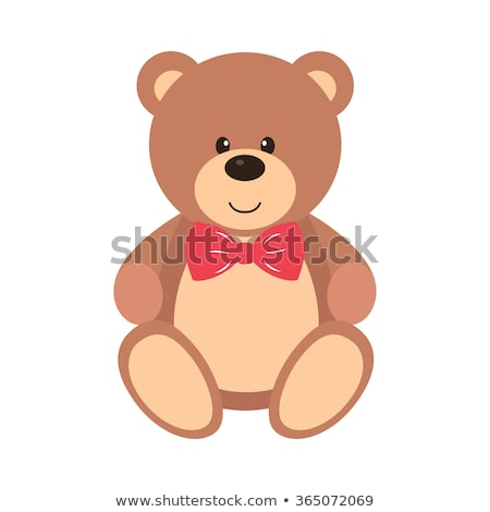 Teddy Bear - Cartoon Character - Vector Illustration stock photo © indiwarm