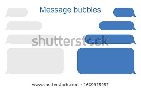 Sms publicité bouton orange rendu 3d Photo stock © tashatuvango