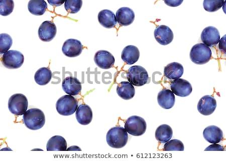 Stock fotó: Kék · szőlő · fölött · kilátás · nagy · friss