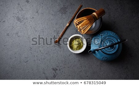 Japanese Tea Ingredients Stock photo © hlehnerer