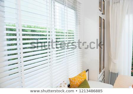 bambu · sombra · vintage · abstrato · natureza - foto stock © stockyimages
