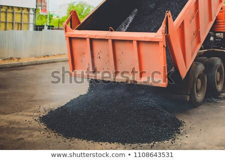 truck on asphalt road Stock photo © photochecker
