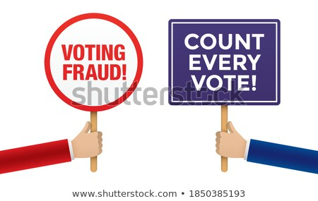 Vote Conflict Stock photo © Lightsource