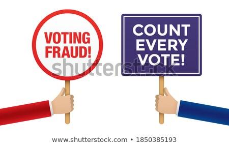 vote conflict stock photo © lightsource