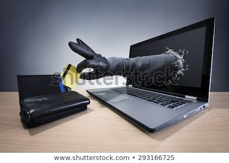 Stock fotó: Nline · lopás · - · laptop