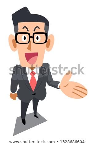 businessman introduce Stock photo © elwynn