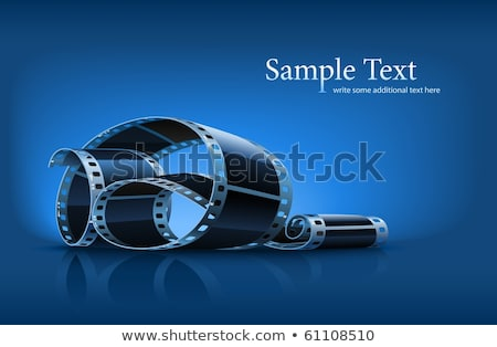 twisted film for photo or video recording stock photo © loopall