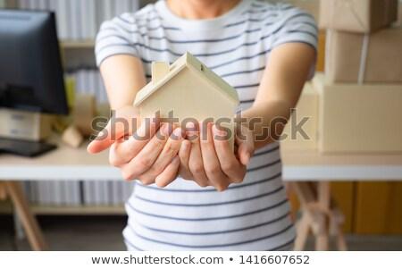 мечта домой служба дизайна модель Сток-фото © Editorial