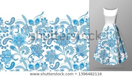abstrato · floral · arco-íris · aviador · modelo · lugar - foto stock © adamson