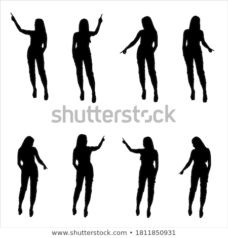 Zdjęcia stock: Collections Of Vector Silhouettes