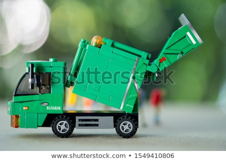 Stockfoto: Verlaten · vrachtwagen · permanente · auto
