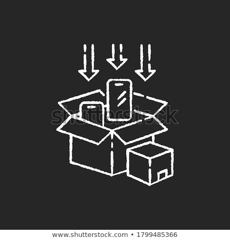 Box of Chalks Stock photo © rogerashford