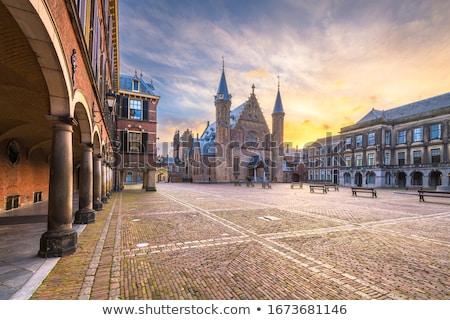 Nederlands parlement ochtend kantoor huis Stockfoto © neirfy