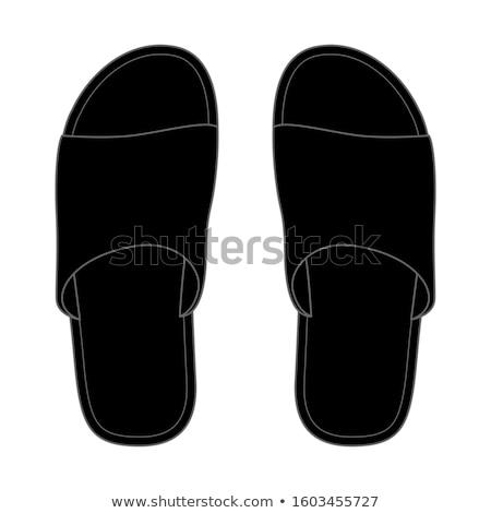 Shoe artwork Stock photo © shawlinmohd