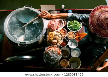 Food market closeup Stock photo © BrunoWeltmann