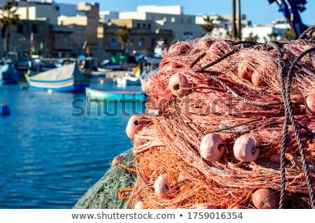 伝統的な 釣り ボート 港 マルタ 市 ストックフォト © travelphotography