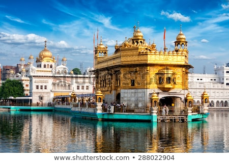 Harmandir Sahib in Amritsar Stock photo © prill