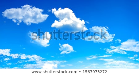 Airplane in the blue sky Stock photo © dvarg