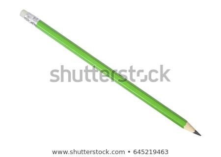 Green pencil  Stock photo © designsstock