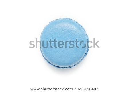 Turuncu mavi gıda arka plan renk gümüş Stok fotoğraf © Klinker