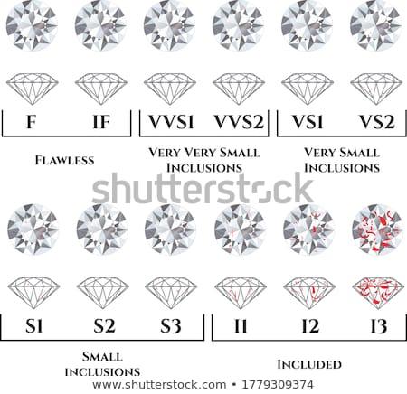brillante · vettore · diamante · soft · grigio · pattern - foto d'archivio © dashadima