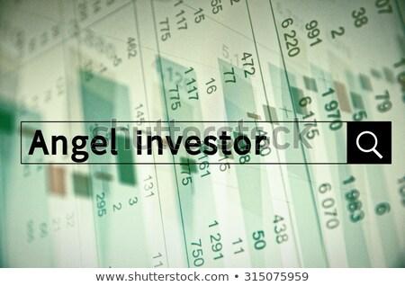 ingesteld · christmas · engelen · drie · vrolijk · weinig - stockfoto © cteconsulting