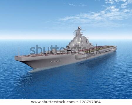 ship aircraft  at sea stock photo © raduga21