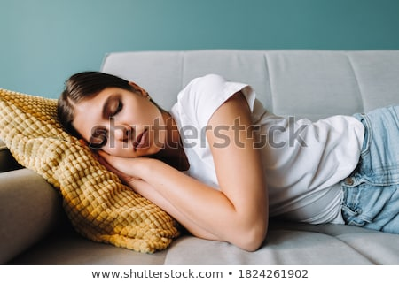 Attractive woman napping  Stock photo © wavebreak_media