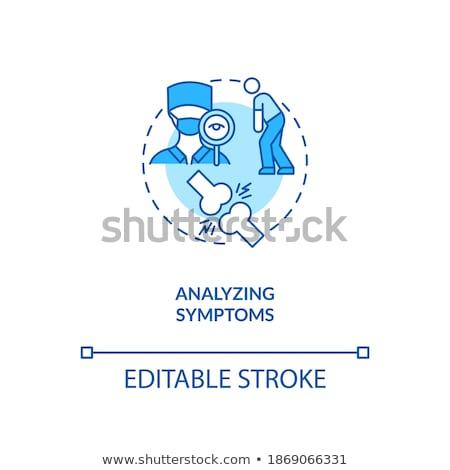 Diagnosis - CFS. Medical Concept. Stock photo © tashatuvango