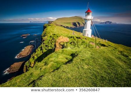 Ilha água paisagem mar verão Foto stock © Arrxxx