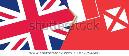 United Kingdom and Wallis and Futuna Flags Stock photo © Istanbul2009