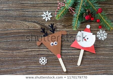 reindeer puppet Stock photo © adrenalina