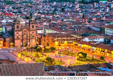 歴史的 · ラ · ペルー · 先頭 · 古い · インカ - ストックフォト © alexmillos
