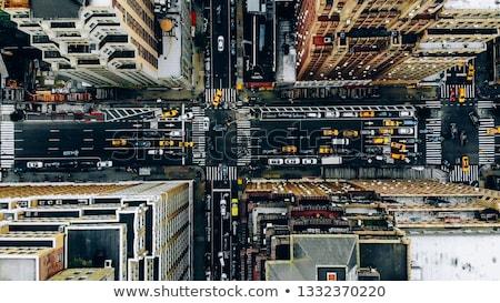 Città view sunrise illustrazione senza soluzione di continuità business Foto d'archivio © tracer