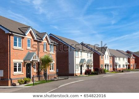 Engels · straat · rij · steen · stad - stockfoto © Hofmeester