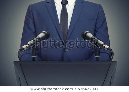 Politician greetings Stock photo © sahua