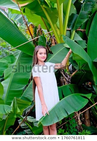 donna · albero · swing · donna · sorridente · sorridere · donne - foto d'archivio © victoria_andreas